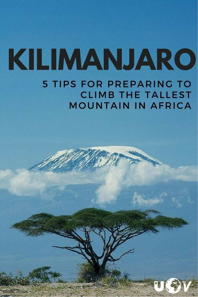 Great tips for climbing Kilimanjaro including everything from how to train before you go to what to bring with you from home before you leave for Africa!