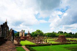 Sukhothai Temple Ruins