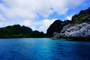 Palawan from the ocean