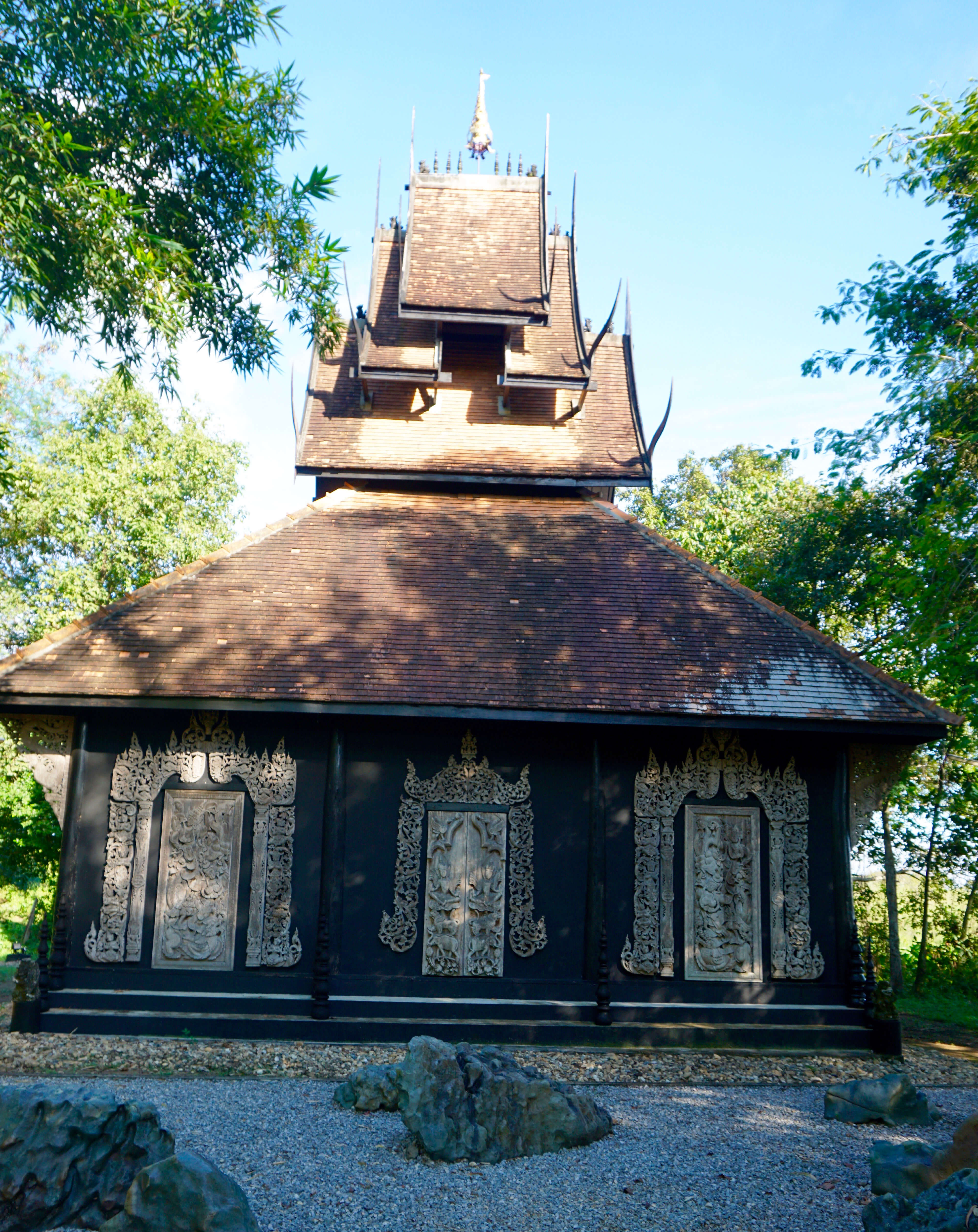 outbuilding at the baan dam museum Thailand