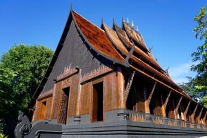 baan dam museum the black house building thailand