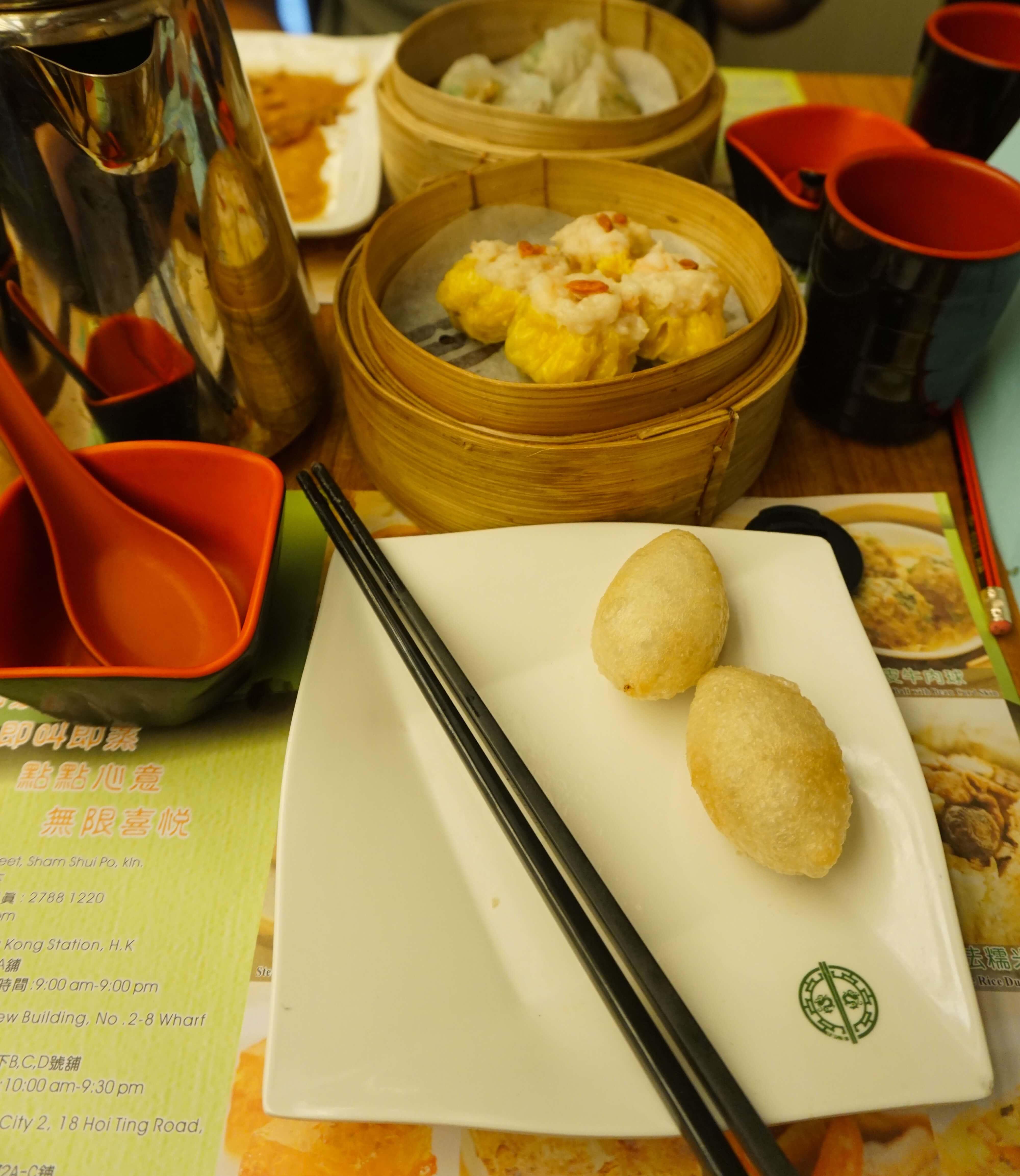 Delicious Dim Sum lunch