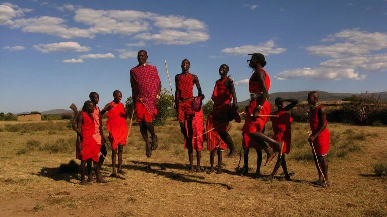 People of the Masai tribe
