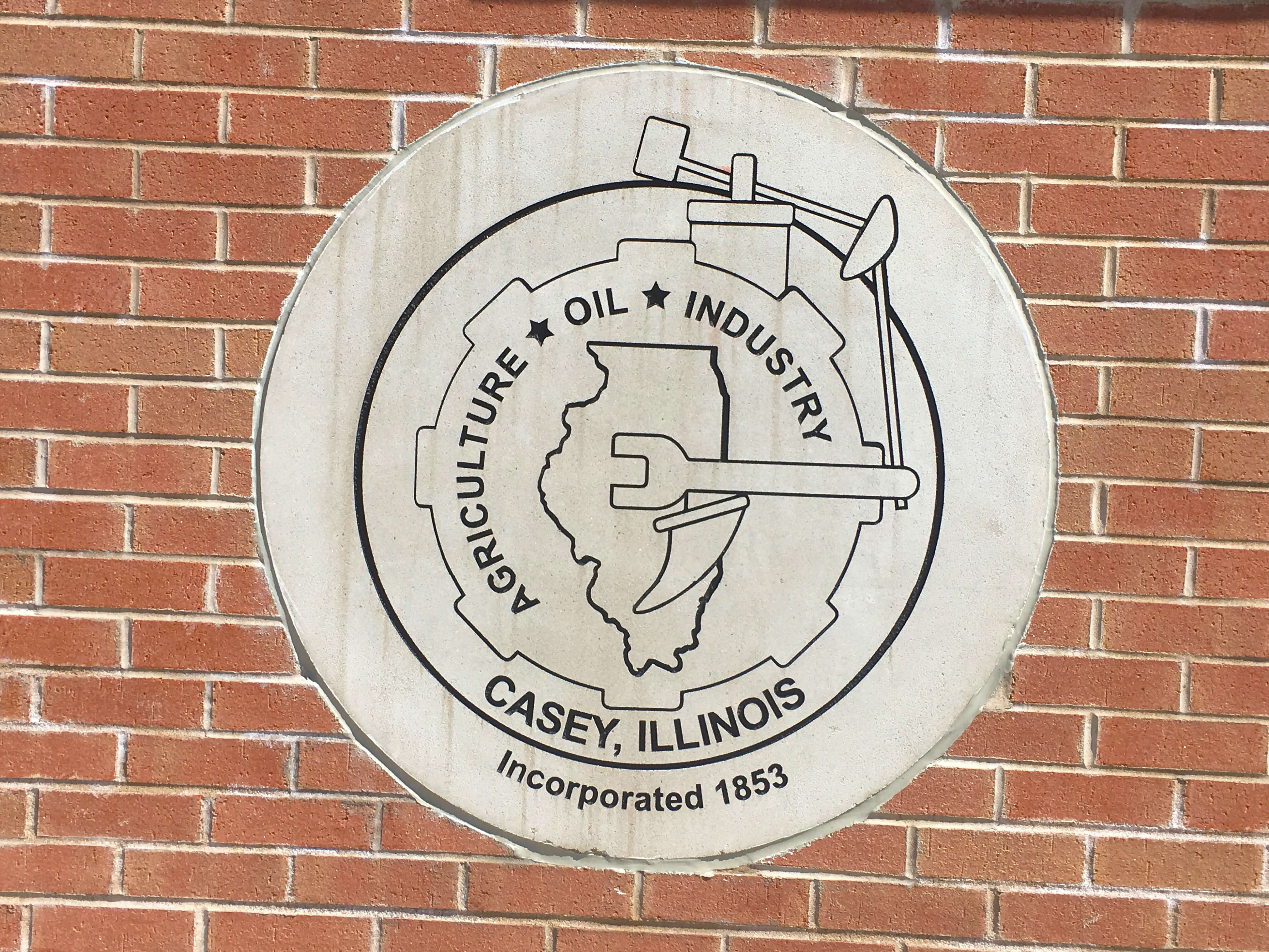 Casey Illinois city seal