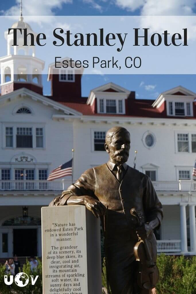 The Stanley Hotel is the most famous hotel in America | Inspiration for Stephen King's The Shinning |