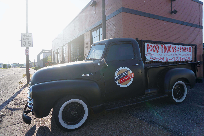Modern Brewery classic truck