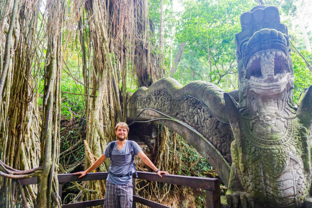 Ron in Ubud Monkey Forest