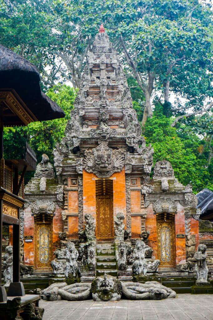 Temple at Ubud Monkey Forest