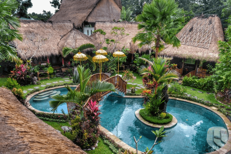 Best places to stay in Ubud- Bali Bohemian Huts