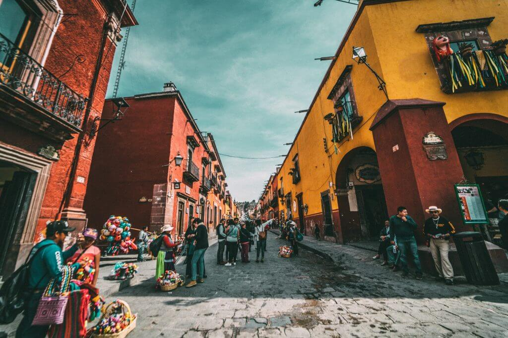 mexico buildings